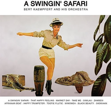 BERT & HIS ORCHESTRA KAEMPFERT - SWINGIN SAFARI - CD New