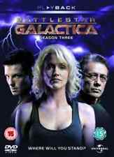 TV SERIES - BATTLESTAR GALACTICA: SEASON 3 - Video X Rental DVD