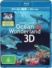 DISCOVERY CHANNEL & NATURE - OCEAN WONDERLAND 3D - Video Used BluRay