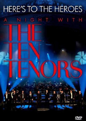 TEN TENORS - HERE'S TO THE HEROES: LIVE IN HAMBURG - Video Used DVD