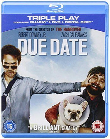 DOWNEY JR, ROBERT - DUE DATE (Used BluRay)