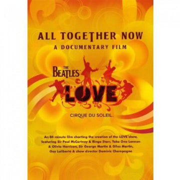 THE BEATLES - ALL TOGETHER NOW - Video Used DVD