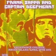 CAPTAIN BEEFHEART & ZAPPA - Providence College Rhode Island April 26 - CD New