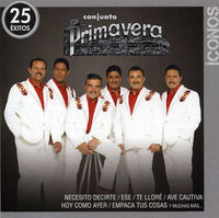 CONJUNTO PRIMAVERA - ICONOS: 25 EXITOS - CD New