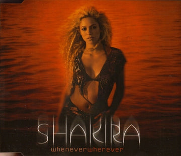 SHAKIRA - WHENEVER WHEREVER - CD Used Single