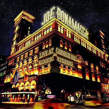 BONAMASSA, JOE - LIVE AT CARNEGIE HALL: AN ACOUSTIC EVENING (CD)