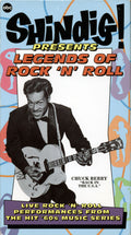 VARIOUS - SHINDIG PRESENTS LEGENDS OF ROCK 'N' ROLL - Video Cassette