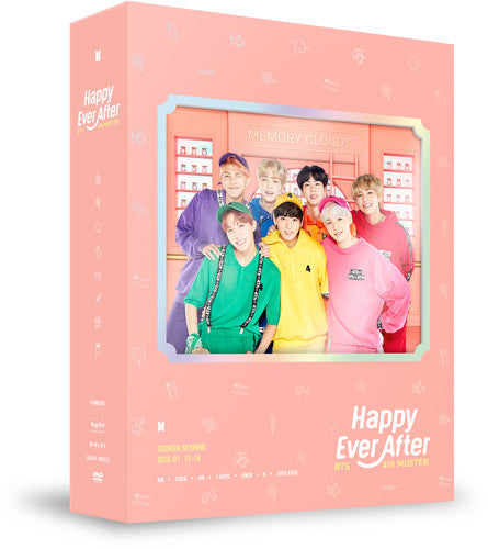 BTS - BTS 4TH MUSTER (HAPPY EVER AFTER) - Video DVD