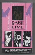 VARIOUS - MOJO WORKING RARE AND LIVE VOL 4 - Video Cassette