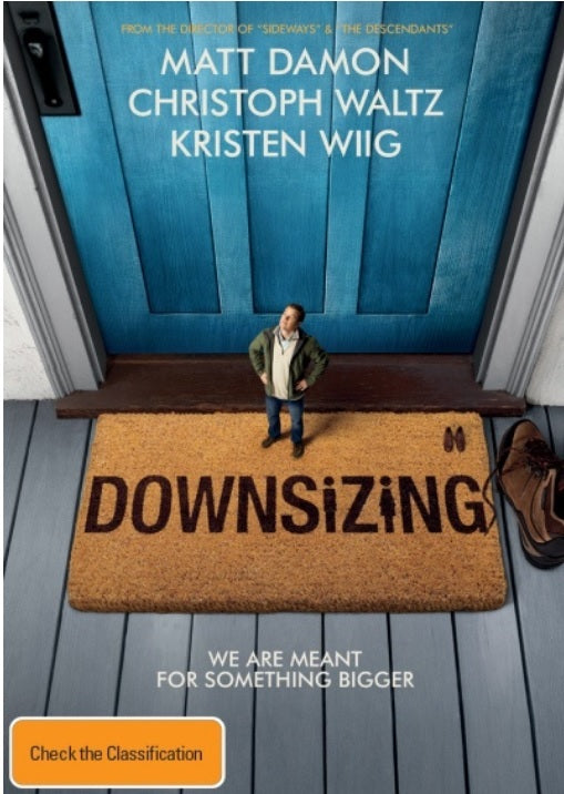 MATT DAMON - DOWNSIZING - Video Used BluRay
