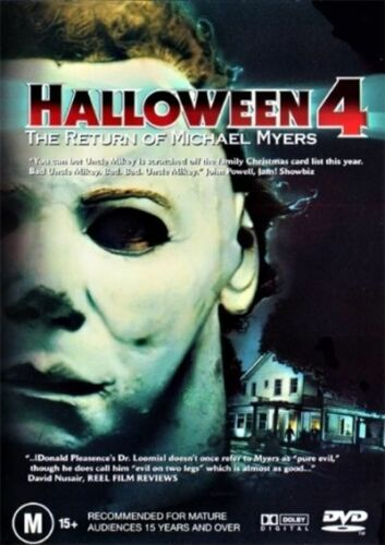 BEAU STARR - HALLOWEEN 4: RETURN OF MICHAEL MYERS [EX RENTAL] - Video X Rental DVD