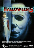 BEAU STARR - HALLOWEEN 5: REVENGE OF MICHAEL MYERS [EX RENTAL] - Video X Rental DVD