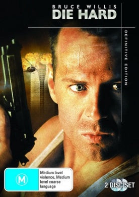 MOVIE DVD - DIE HARD - BRUCE WILLIS