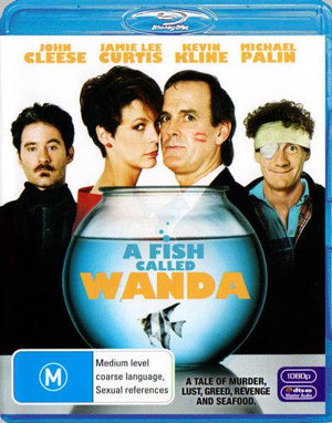 JOHN CLEESE - FISH CALLED WANDA, A - Video Used BluRay