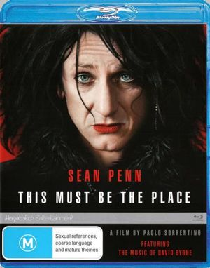 SEAN PENN - THIS MUST BE THE PLACE - Video Used BluRay