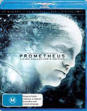 NOOMI RAPACE - PROMETHEUS [4 DISC] - Video Used BluRay