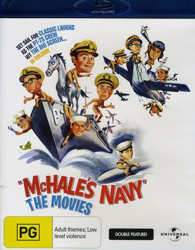 MCHALE'S NAVY MOVIE DOUBLE FEATURE - MCHALE'S NAVY MOVIE DOUBLE FEATURE - Video BluRay