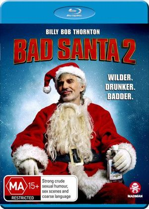 BILLY BOB THORNTON - BAD SANTA - 2 - Video Used BluRay