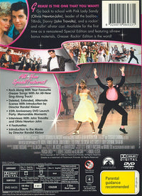 JOHN TRAVOLTA - GREASE - 2 Disc Rockin' Edition