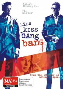 VAL KILMER - KISS KISS BANG BANG - Video Used DVD