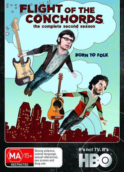 BRET MCKENZIE - FLIGHT OF THE CONCHORDS - COMPLETE SEASON 2 - Video Used DVD