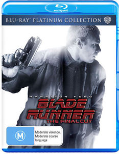 HARRISON FORD - BLADE RUNNER THE FINAL CUT - Video Used BluRay