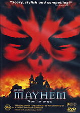 MOVIE DVD - MAYHEM - JOHN HANCOCK'S