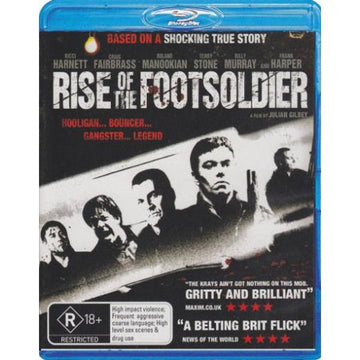 RICCI HARNETT - RISE OF THE FOOTSOLDIER - Video Used BluRay