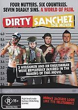 MOVIE DVD - DIRTY SNACHEZ THE MOVIE [EX RENTAL]