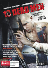 BRENDON CARR - 10 DEAD MEN - [EX RENTAL DISC ONLY] - Video X Rental DVD