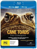 DISCOVERY CHANNEL & NATURE - CANE TOADS - THE CONQUEST - Video Used BluRay