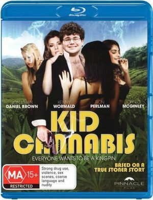 JONATHAN DANIEL BROWN - KID CANNABIS - Video Used BluRay