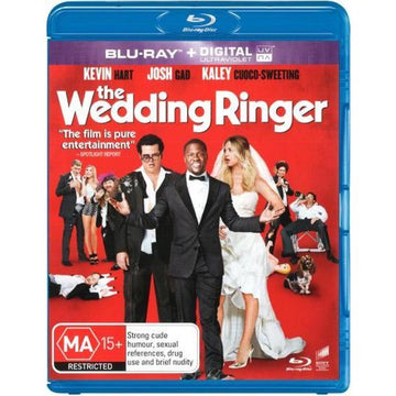 KEVIN HART - WEDDING RINGER, THE - Video Used BluRay