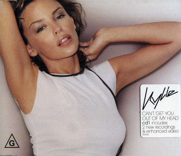 KYLIE MINOGUE - CAN'T GET YOU OUT OF MY HEAD - CD New Single