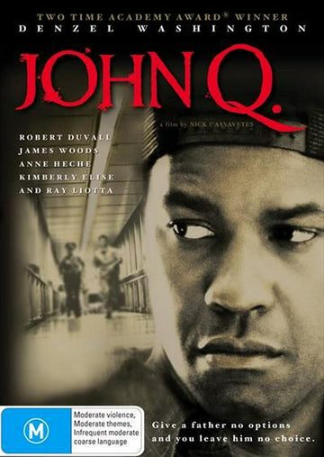 DENZEL WASHINGTON - JOHN Q - [EX RENTAL] - Video X Rental DVD