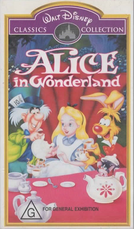 WALT DISNEY - WALT DISNEY'S ALICE IN WONDERLAND - Video Used