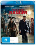 JOHNNY DEPP - LONE RANGER, THE - Video Used BluRay