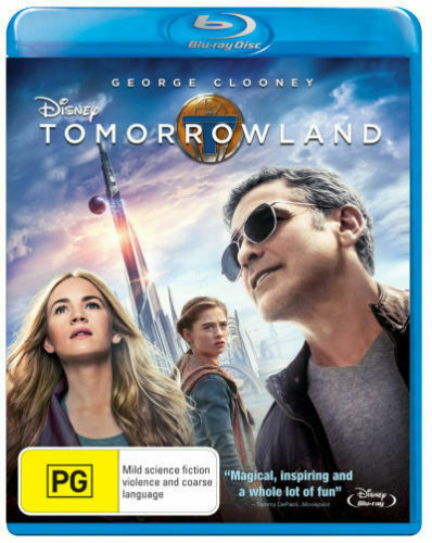 GEORGE CLOONEY - TOMORROWLAND - Video Used BluRay