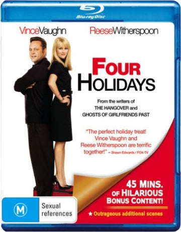 REESE WITHERSPOON - FOUR HOLIDYAS - Video Used BluRay