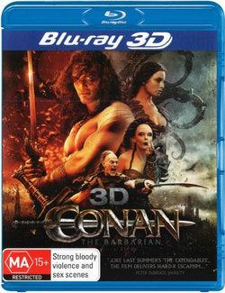 JASON MOMOA - CONAN THE BARBARIAN - 3D - Video Used BluRay
