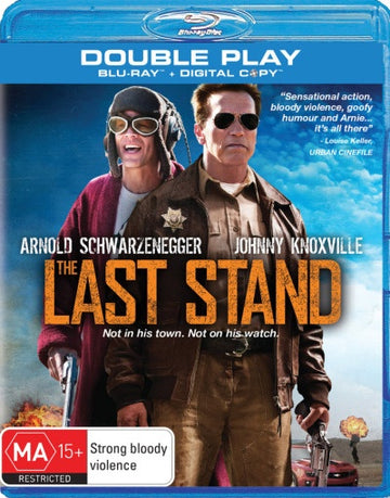 ARNOLD SCHWARZENEGGER - LAST STAND, THE - Video Used BluRay