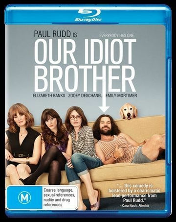 PAUL RUDD - OUR IDIOT BROTHER - Video Used BluRay