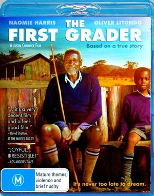 NAOMIE HARRIS - FIRST GRADER, THE - Video Used BluRay