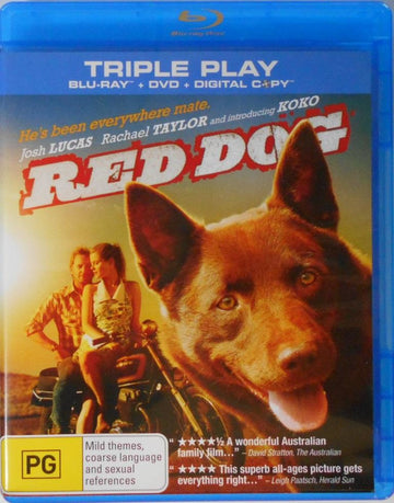 JOHM LUCAS - RED DOG TRIPLE - BLU RAY + DVD + DIGITAL - Video Used BluRay