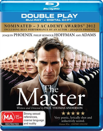 JOAQUIN PHOENIX - MASTER, THE - Video Used BluRay