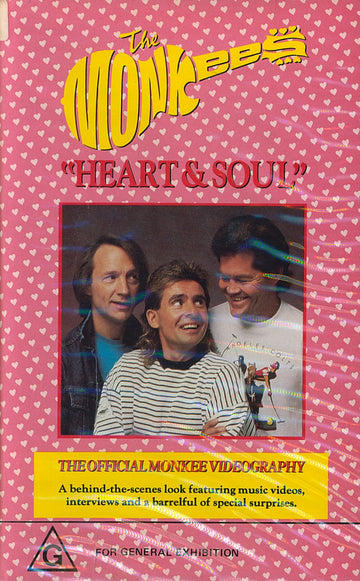 MONKEES - HEART & SOUL - Video Cassette