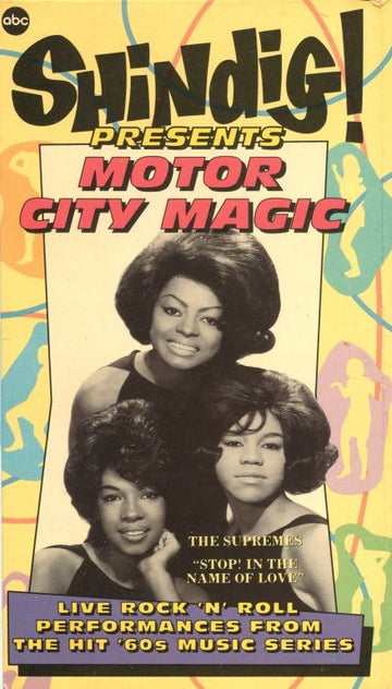VARIOUS - SHINDIG PRESENTS MOTOR CITY MAGIC - Video Cassette