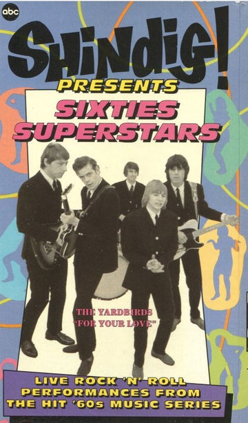 VARIOUS - SHINDIG PRESENTS SIXITES SUPERSTARS - Video Cassette