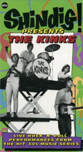 THE KINKS - SHINDIG PRESENTS THE KINKS - Video Cassette