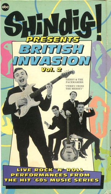 VARIOS - SHINDIG PRESENTS BRITISH INVASION VOL. 1 - Video Cassette